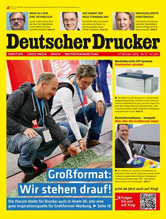 Produkt: Deutscher Drucker Digital 21/2016