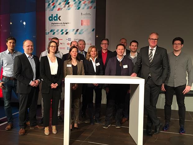 Die Referenten des Digitaldruck-Kongresses 2018