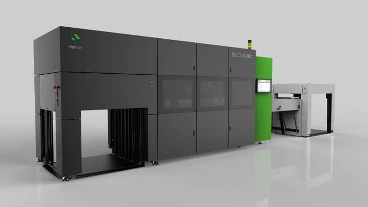 Die neue Generation der digitalen Stanz- und Rillmaschine von Euclid, die Highcon Euclid IIIC, ist nun auch für den Wellpappenmarkt verfügbar. Sie kann laut Hersteller einwellig kaschierte Wellpappe mit N-, F-, G-, E- und B-Welle von 1 bis 3 mm bearbeiten.