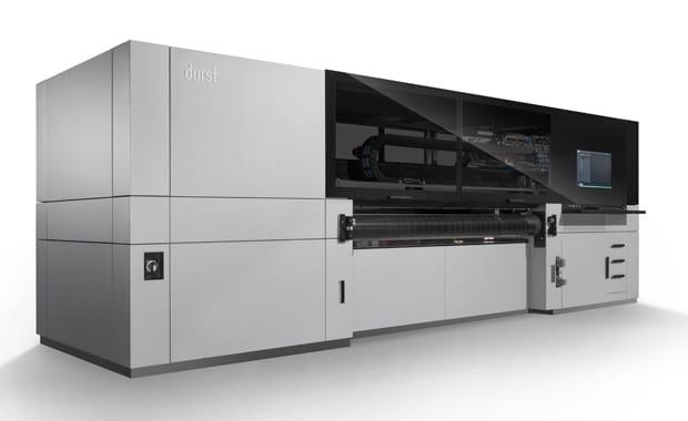Die P5 250 HS ist das erste Maschinenmodell der neuen P5-Plattform von Durst.