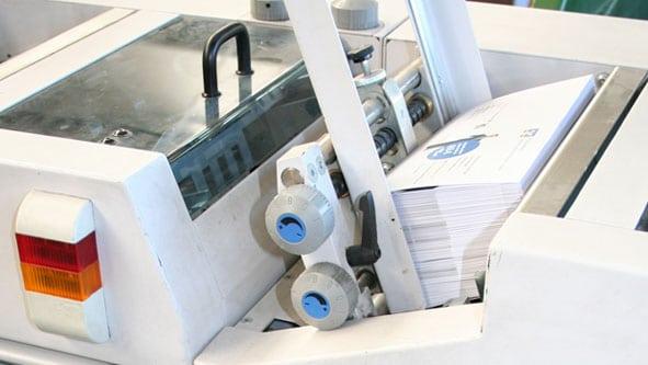 Druckweiterverarbeitung im Digitaldruck