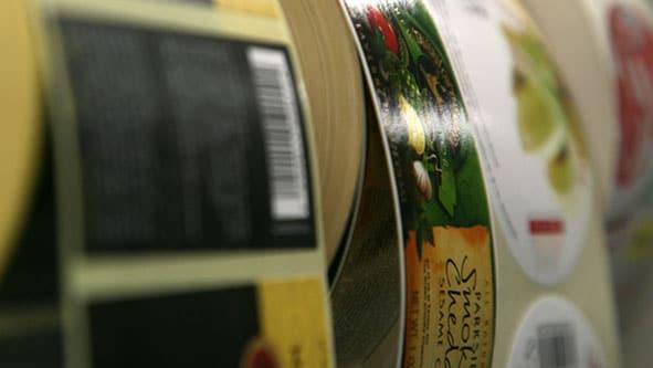 Etiketten aus dem Digitaldruck