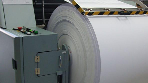Digitaler Rollendruck im Inkjet-Verfahren