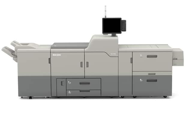 Die neue Ricoh-Pro-C7200X-Reihe soll verschiedene Verbesserungen und Neuerungen gegenüber der Vorgängerserie Pro C7100X bieten. Das Bogendrucksystem ist bereits ab diesen Monat in der EMEA-Region verfügbar, so Ricoh.