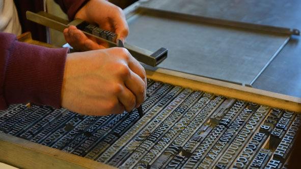 Aus der Geschichte der Druckindustrie: Der Bleisatz