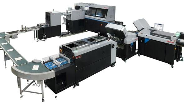 Druckweiterverarbeitungsanlage BQ-480 von Horizon GmbH