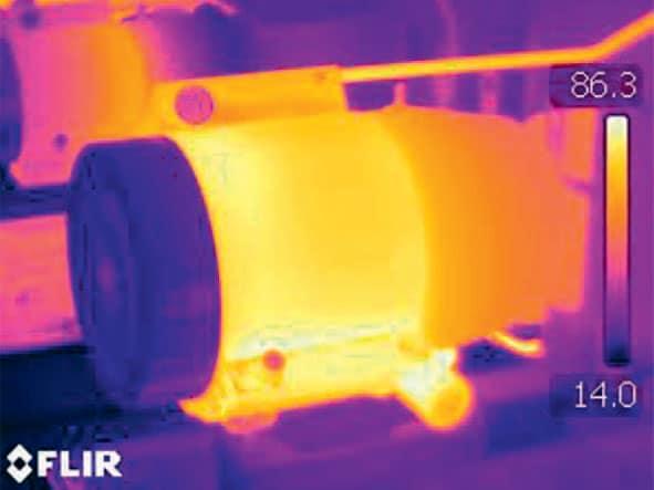 Wärmebilder zeigen, ob in einer Druckerei ein Energiekreislauf lohnt