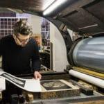Künstlerische Drucktechniken sind in der bundesweite Verzeichnis des Immateriellen Kulturerbes aufgenommen worden.