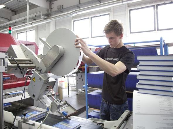 Medientechnologe Druckverarbeitung
