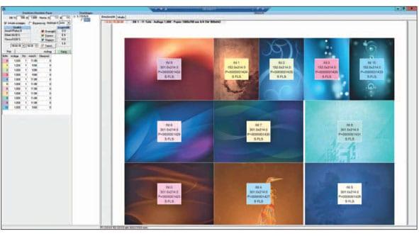 Bogeneinteilungs-Software zur Prozessunterstützung bei Online-Druckereien