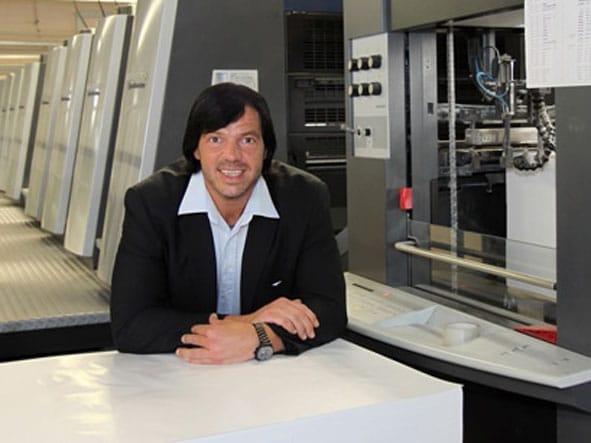 Walter Meyer, Gründer der Online-Druckerei Onlineprinters GmbH