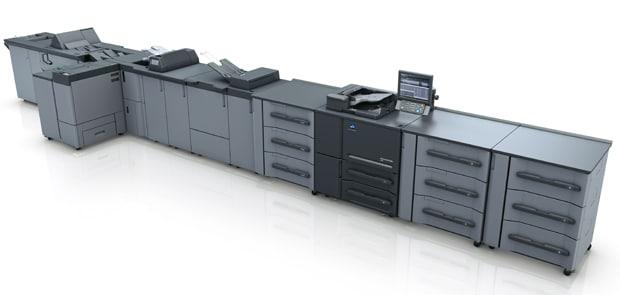 Die neue Schwarzweiß-Druck-Serie Accurio-Press 6136 von Konica Minolta umfasst drei Modelle.