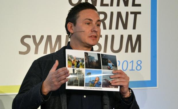 Oliver Kray hat mit MyPostcard eine App entwickelt, mit der aus Handybildern echte und ganz individuelle Postkarten werden.