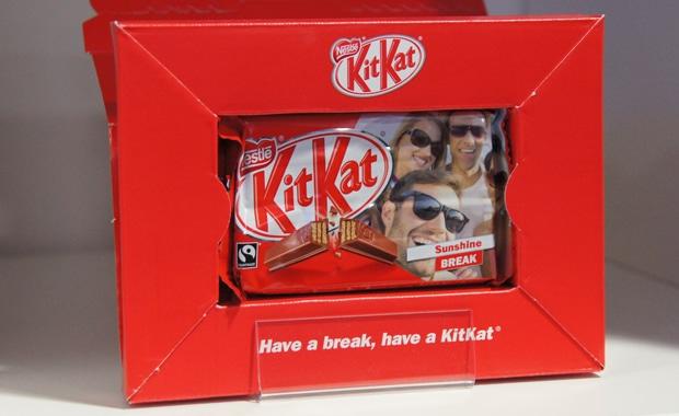 Bei Ultimate Packaging in Großbritannien ist eine Personalisierungskampagne für KitKat umgesetzt worden. Ähnliches bieten aber auch viele andere Süßwarenhersteller an.