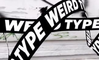 Typografie-App mit AR, »Weird Type«