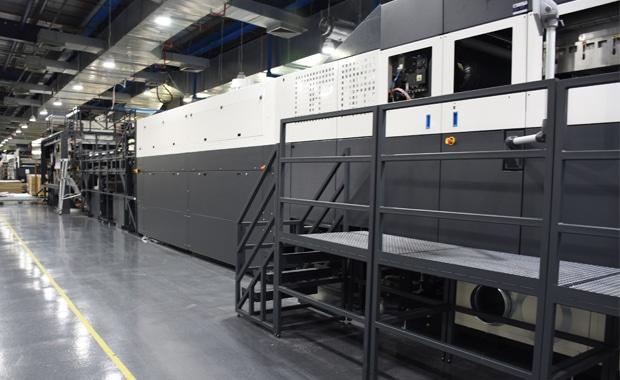 Postprint: Industrieller Digitaldruck direkt auf Wellpappe