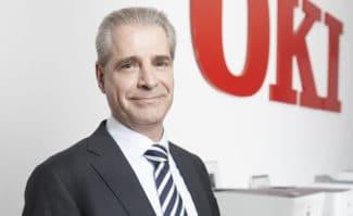 Oki hat sein Central-Region-Team neu aufgestellt, um Sales und Marketing besser miteinander zu verzahnen. Im Bild: Thomas Seeber, Vice President Central Region bei Oki.
