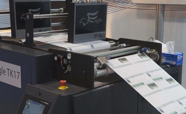 Zu den MCS-Drucksystemen, die die Profi-Tec GmbH künftig stärker in Europa vertreibt, gehört auch das MK-17-System für den variablen Datendruck auf Rolle.