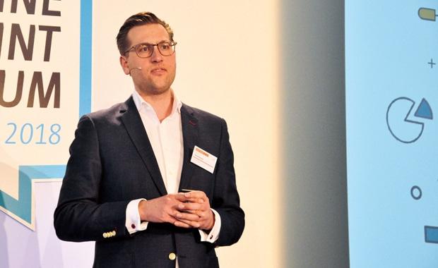 Martin Twellmeyer, Gründer und Geschäftsführer von Optilyz hatte auf dem Online Print Symposium seine Lösung vorgestellt.