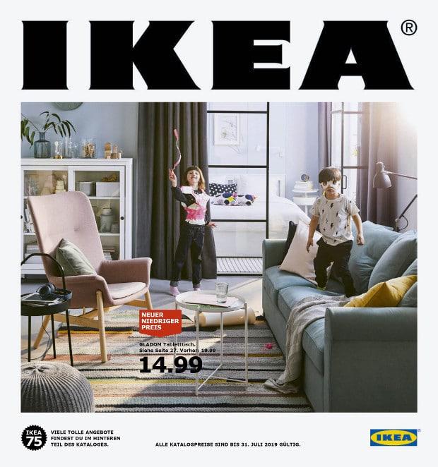 In den nächsten Tagen und Wochen wird der neue Ikea-Katalog in Millionen Haushalten verteilt.