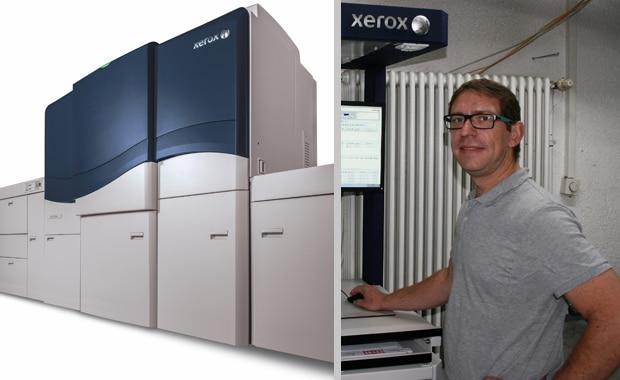 Bei Digitaldruck Pirrot wird nun mit einer neuen Xerox iGen 5 produziert. Die fünfte Farbstation verleiht den Druckprodukten zusätzlichen Mehrwert, erklärt Geschäftsführer Christian Weirich.
