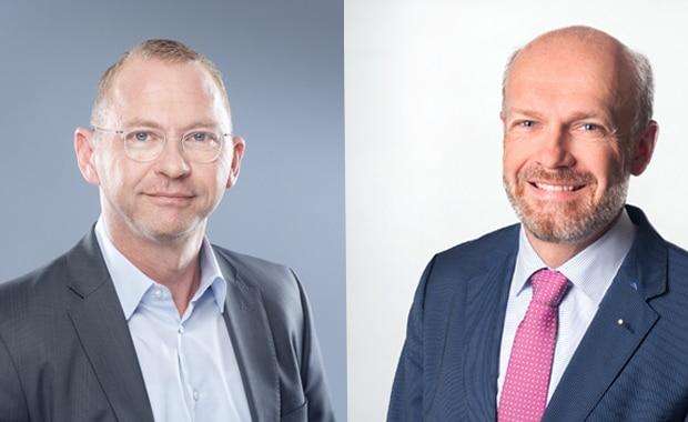 Frank Werneke, stellv. Verdi-Vorsitzender (l.) und Sönke Boyens, Vorsitzender des Sozialpolitischen Ausschusses des BVDM.