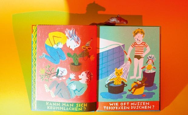 Buchdruck: Das Bilderbuch »Schwimmt Brot in Milch?« gewinnt den mit 10.000 Euro dotierten Preis der Stiftung Buchkunst und ist eines der schönsten deutschen Bücher 2018.