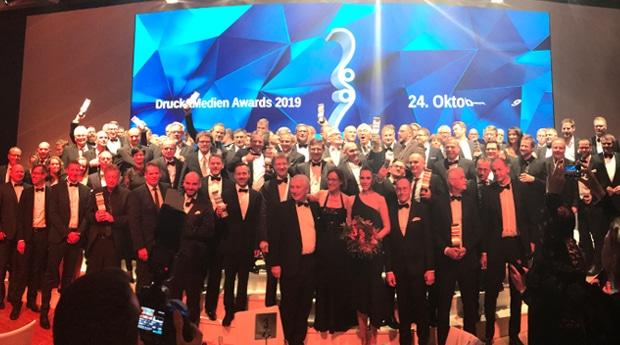 Die Gewinner der Druck&Medien Awards 2018.