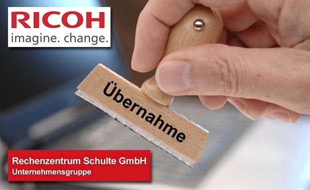 Ricoh führt das operative Geschäft der Rechenzentrum Schulte GmbH fort.