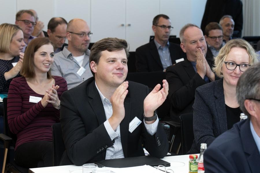 Print 4.0: Die zahlreichen Fachvorträge stießen beim Publikum des Treffpunkt Innovation auf Anklang.