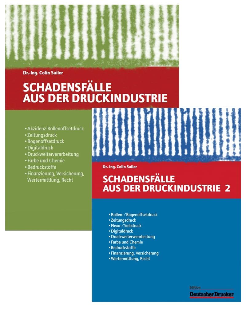 Produkt: Bundle: Schadensfälle aus der Druckindustrie – Ausgabe 1+2