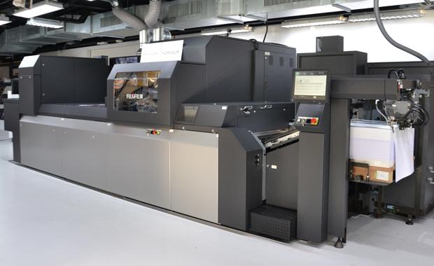 Die neue Jet Press 750S erreicht laut Hersteller eine Druckgeschwindigkeit von bis zu 3600 Bg/h im maximalen Format.