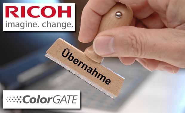 Ricoh übernimmt den Software- und Farbmanagement-Spezialisten Colorgate.