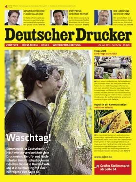 Produkt: Deutscher Drucker 15-16/2013 Digital