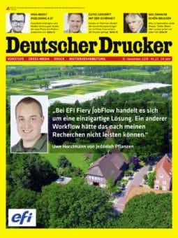 Produkt: Deutscher Drucker 23/2018