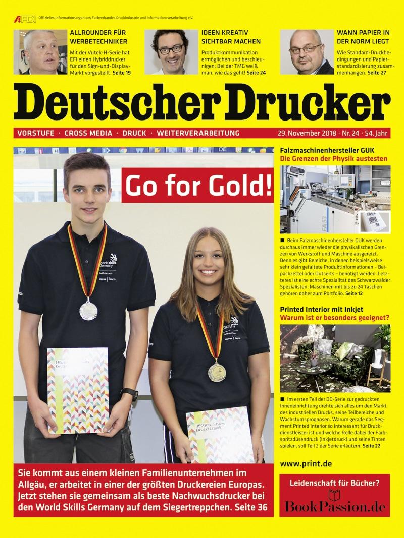 Produkt: Deutscher Drucker 24/2018 Digital