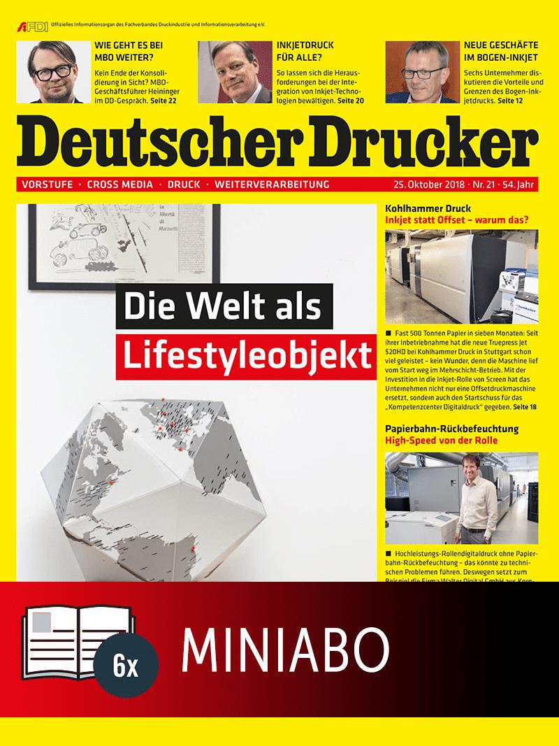 Produkt: Deutscher Drucker Miniabo