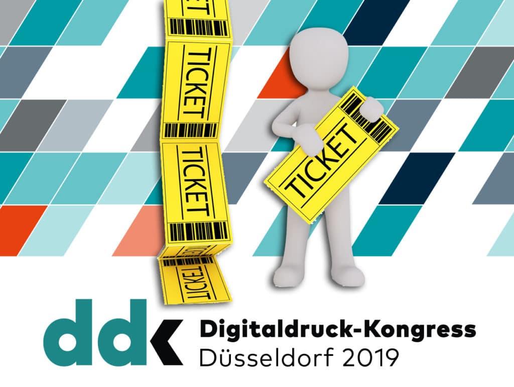 print.de und Deutscher Drucker verloren fünf Eintrittskarten für den Digitaldruck-Kongress 2019 am 6. Februar in Düsseldorf. Einfach die untenstehende Frage richtig beantworten und mit etwas Glück gewinnen.