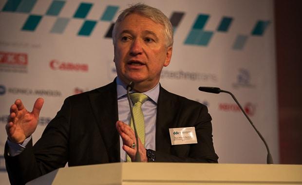 Die Verbände Druck und Medien – im Bild Dr. Paul Albert Deimel, Hauptgeschäftsführer des BVDM – und die Drupa laden auch 2019 wieder zum Digitaldruck-Kongress ein.