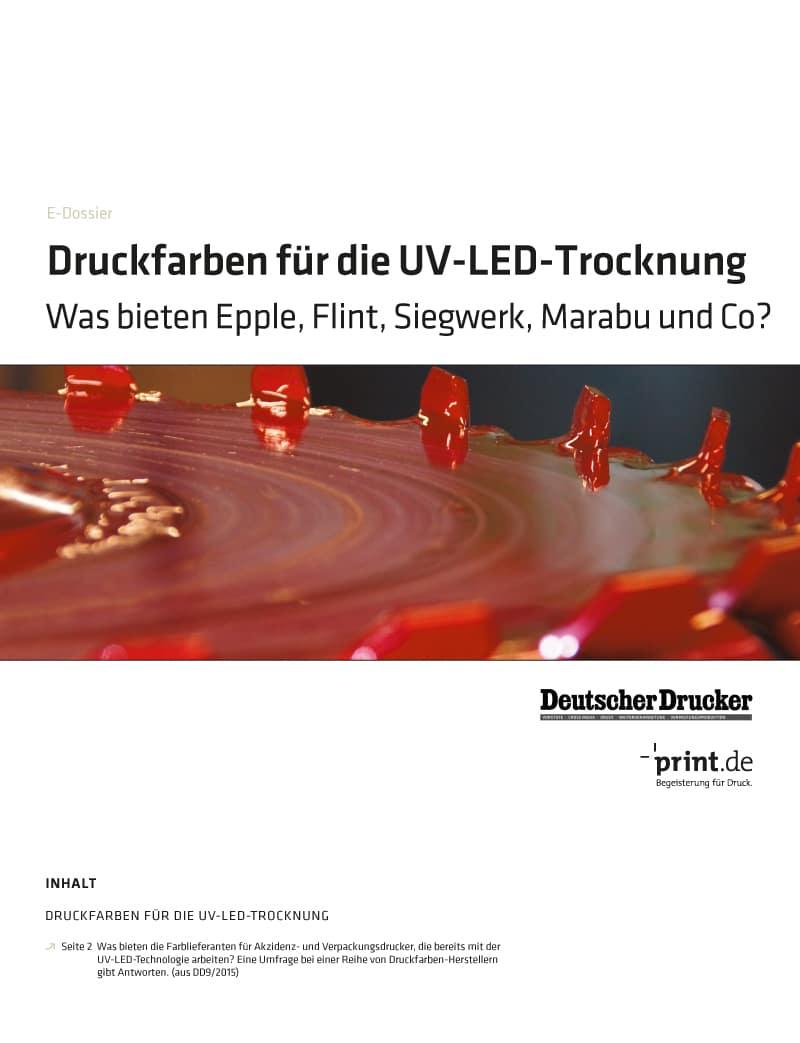 Produkt: Download »Druckfarben für die UV-LED-Trocknung«
