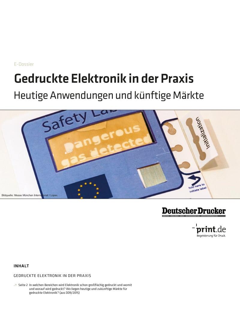 Produkt: Download »Gedruckte Elektronik in der Praxis«