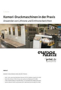 Produkt: Download »Komori-Druckmaschinen in der Praxis«