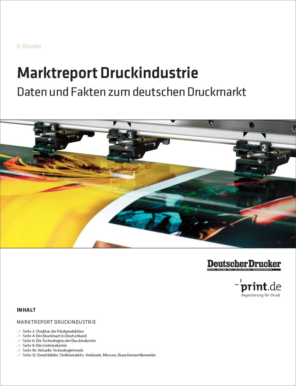 Produkt: Download »Marktreport Druckindustrie«