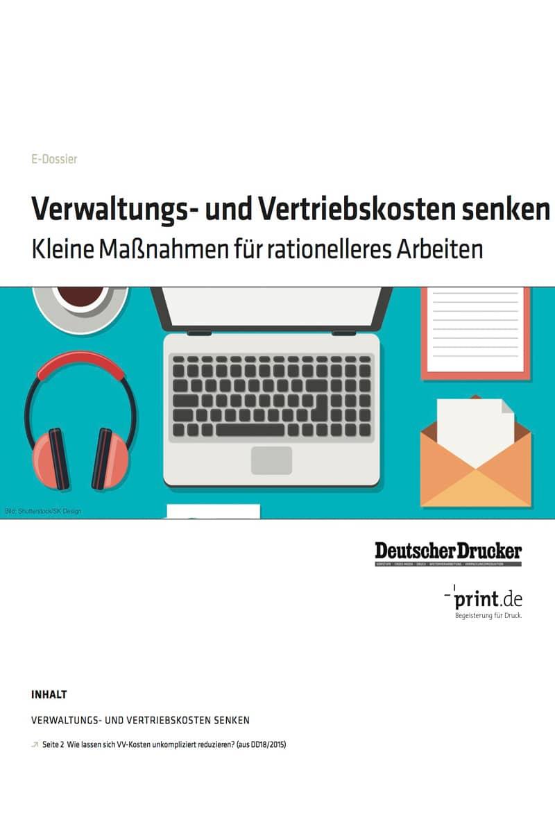 Produkt: Download: »Verwaltungs- und Vertriebskosten senken«