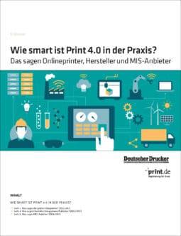 Produkt: PDF-Download: Download »Wie smart ist Print 4.0 in der Praxis?«
