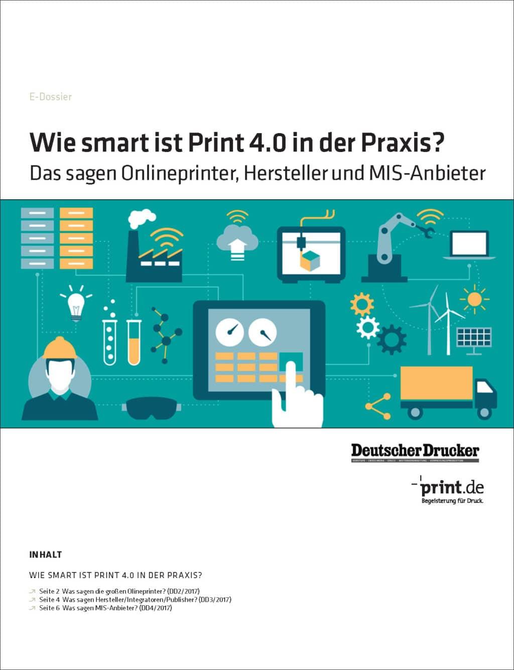 Produkt: Download »Wie smart ist Print 4.0 in der Praxis?«