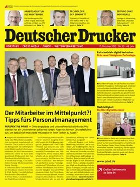 Produkt: Deutscher Drucker 30/2012 Digital