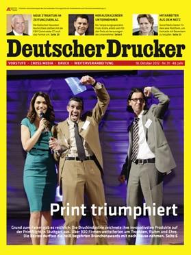 Produkt: Deutscher Drucker 31/2012 Digital