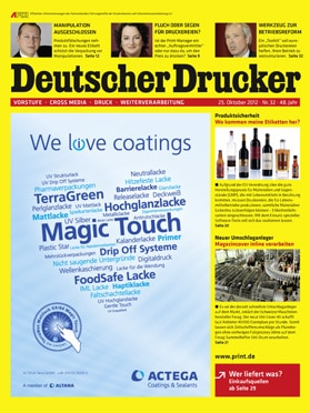 Produkt: Deutscher Drucker 32/2012 Digital