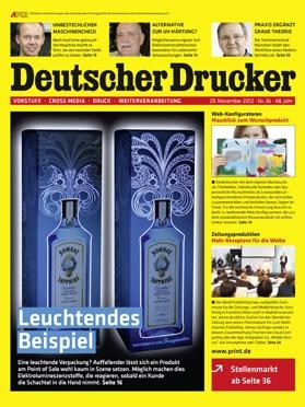 Produkt: Deutscher Drucker 36/2012 Digital
